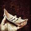 Boat Made by Youngest Daughter from Nature. #gift