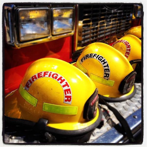 What heroes wear. #firefighters