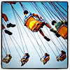 Swing around the yoyo ride. #fair #btv #VT #fairground