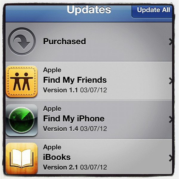 These await you after iOS 5.1 update.