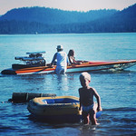 My first boat #lakealmanor #1981 #tbt loving these old slides! via Instagram http://ift.tt/1Iv2GwK