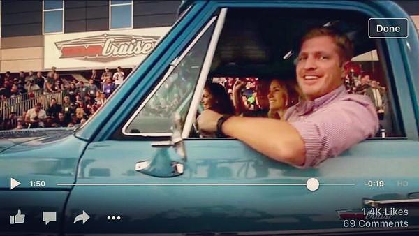 My .5 seconds of fame from the @semashow cruise video #SEMA2015 #funfars72chevycheyennek20super #originalowner #semaignited #hedmanhedders via Instagram http://ift.tt/1MueUUZ