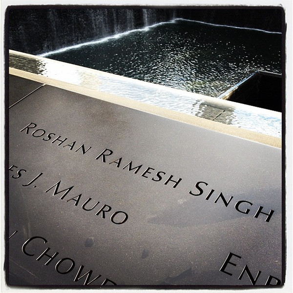 Roshan Ramesh Singh. #nyc #911victim #911memorial #sikh #singh