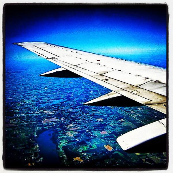 Just winging it! #plane