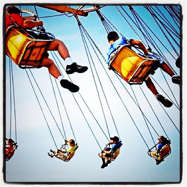 Swinging Around! #fair #btv #vt