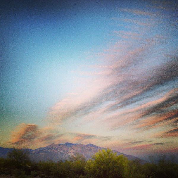 """#tucson #arizona #az #igerstucson #instagramaz #sky #clouds #catalinamountains via Instagram <a href=""""http://instagram.com/p/ZCKcEMCikS/"""">http://instagram.com/p/ZCKcEMCikS/</a>"""