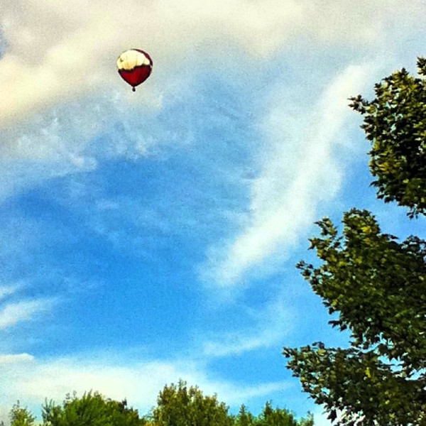 Fly ballon fly! #hot-air #balloon #milton #btv #aviation
