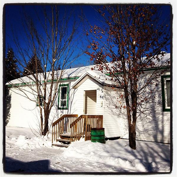 Winter cabin -Herouxville, QC