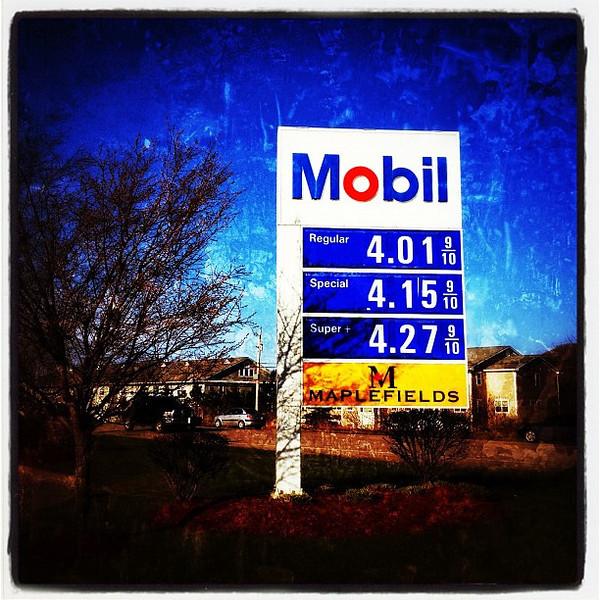 It's official. Vermont has reached $4.00 / gallon! #vt #btv #miltonvt