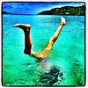 Underwater Gymnastics. #st_thomas #usvi