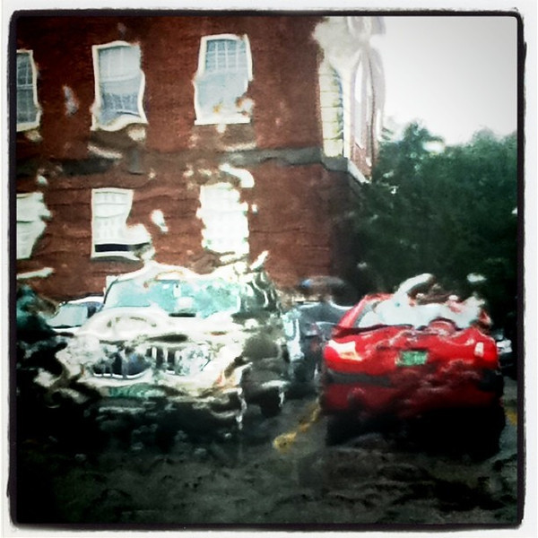 Another mangled wet day. #btv #VT #UVM #rain #abstract #wet