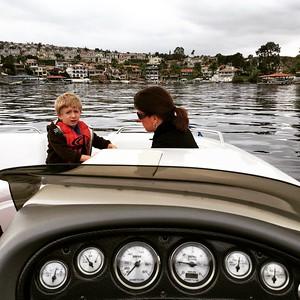 Not that warm - but still fun on the lake! #canyonlake via Instagram http://ift.tt/1HpSfWw