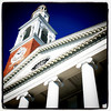 Ira Allen Chapel at the University of Vermont (UVM). #btv #vt #chapel #tower #university #landmark # architecture