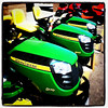 Little John looking green. #tractor #mower #equipment #green #btv