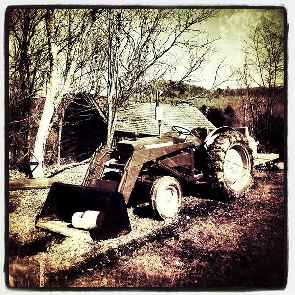 Ford built tough. #miltonvt #tractor