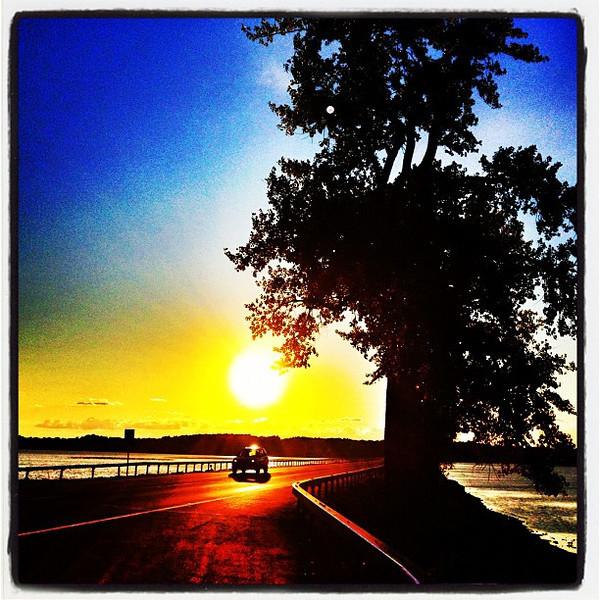 Perfect Time For a Scenic Drive. #miltonvt #vt