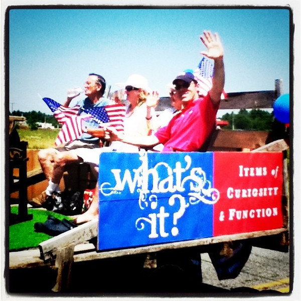 #Milton Historical Society float at the 4th of July #parade. #usa #patriotic