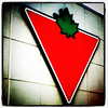 A Canadian icon. When in #Canada, one must visit. #store #sign #mapleleaf