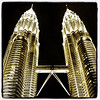 Petronas Twin Towers at Night. #KualaLumpur #Malaysia