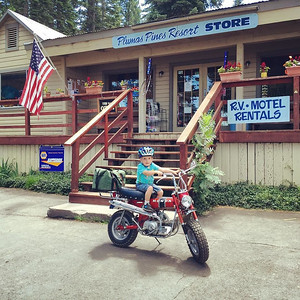 Sandwiches, beverages and my trail riding buddy! #lakealmanor #honda #trail70 via Instagram http://ift.tt/2aPQNVi