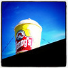 Super sized! #fast-food #Wendy's #marketing #canada