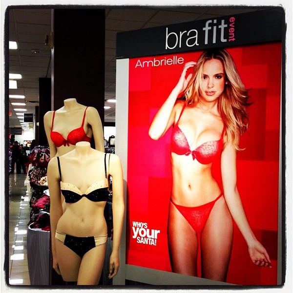 Bra Fit Event. #shopping #lingerie