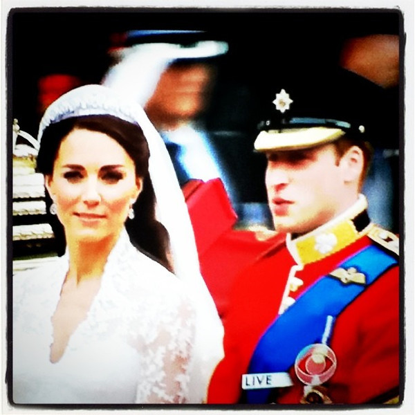 Congrats Will & Kate. #royal #wedding #England #London #prince #princess