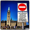 Authorized Vehicles Only. #parliament #canada