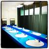 Men's washroom at #Microsoft. #Redmond #blue