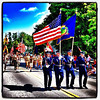 VT Air National Guard leads the Milton 4th of July Parade. #miltonvt #vt