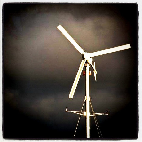Big fan to cool you down. :-) #structure #btv #VT #uvm #windmill