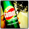 Here comes the Comet. Bathroom cleaning time!
