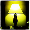 Yellow light from a hotel lamp. #Marriott #hotel #Redmond #Seattle