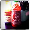 Have Sriracha will travel.