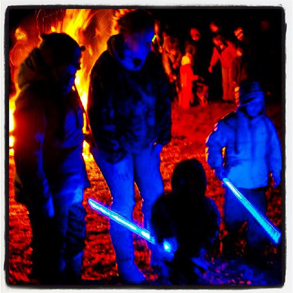 Blue People. #miltonvt #festival