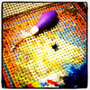 The Making of a Rug. #instagramaday