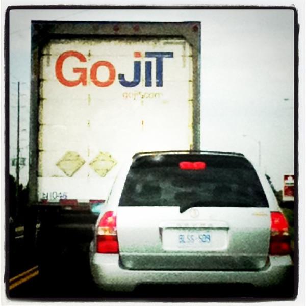 HarJit GoJit Go Go Go Jit!! #sign #funny #travel #canada #interesting #awesome