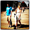 She's #hot but he looks pissed. #street #shooting #btv