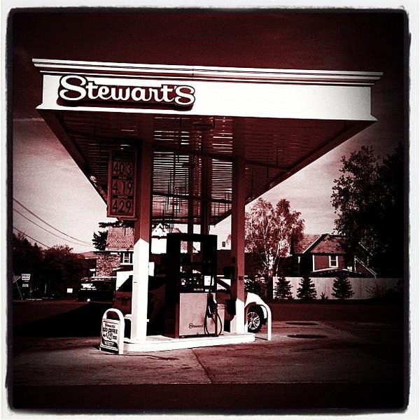 Stewart's has great ice-cream too! #ny #Ticonderoga
