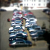 Toy cars? #tiltshift #cars #toys #btv