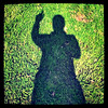 Happy Friday the 13th! #Friday #13 #silhouette #self-portrait