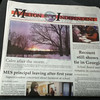 Extra! Extra! Read all about it. My shot on the front page!