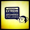 Warning! Monkey awesomeness. #sign #funny #comic #geek