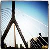 Welcome to #Boston. #bridge #architecture