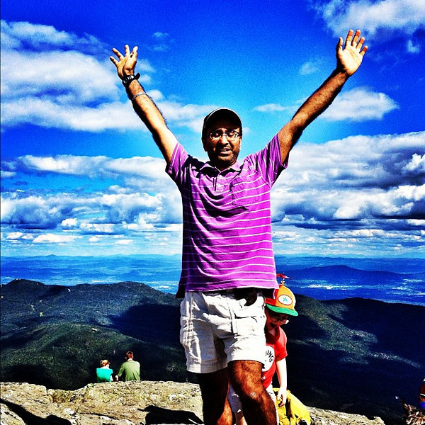 I conquered Mt. Mansfield. 4395 feet above sea level. #mtmansfield #vt