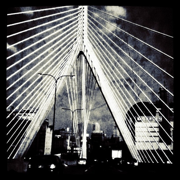 Pretty bridge in Boston. #travel #architecture #bridge