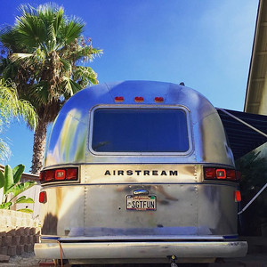 Polishing #sgtfun for a possible appearance on the new TV show The Grand Tour in a few weeks #thegrandtour #vintageairstream #airstream via Instagram http://ift.tt/2chjJpY