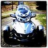 My buddy's new bike. He's doing a 5-week 4 corners of the USA bike trip soon. #bike #travel #awesome