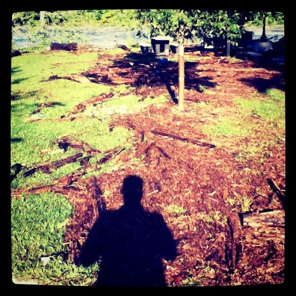 Debris after Hurricane Irene. #VTIrene #Milton #btv #VT