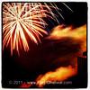 Patriotic scene. #Milton #VT #btv #fireworks